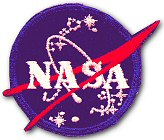 NASA logo patch