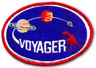Voyager mission patch