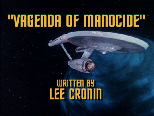 Vagenda of Manocide