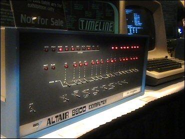 OVGE 2006 - Altair 8800 display