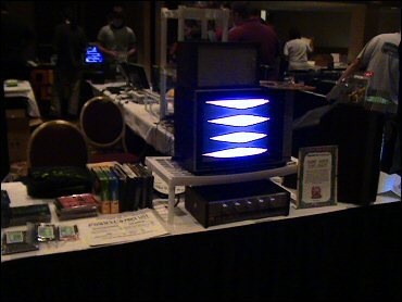 OVGE 2006 - Phosphor Dot Fossils display
