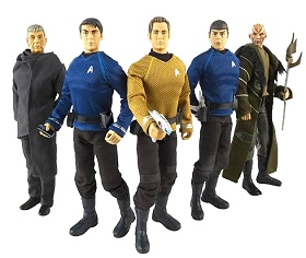 Star Trek (2009) Command Collection figures