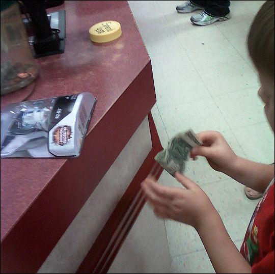 Little E @ the robot store