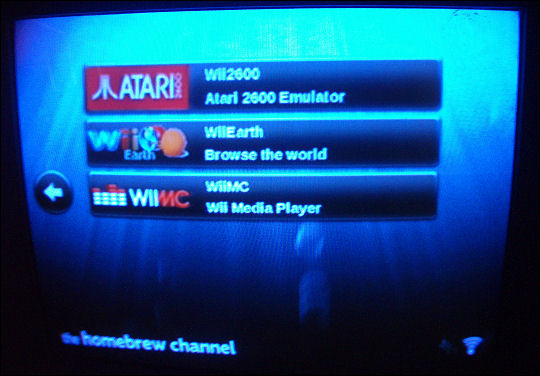 Wii Homebrew Channel
