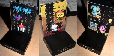 Namco Dotgraphic Figures with Sound