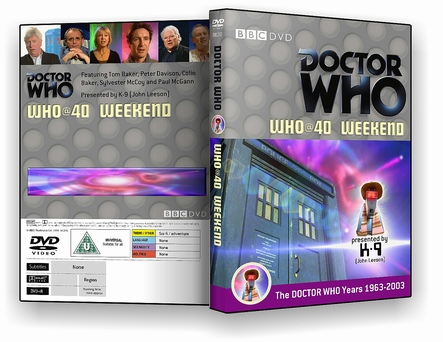 Who @ 40 Weekend DVD cover