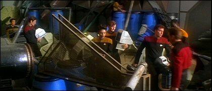 Star Trek: Generations - Enterprise cargo bay