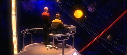 Star Trek: Generations - Enterprise stellar cartography