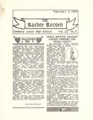 Raider Record Vol. 22 #5