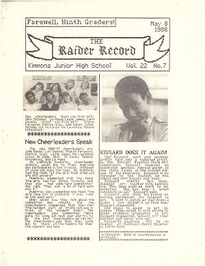 Raider Record Vol. 22 #7