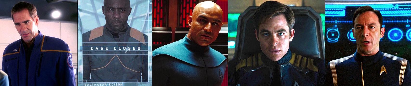 Blue uniforms in Star Trek