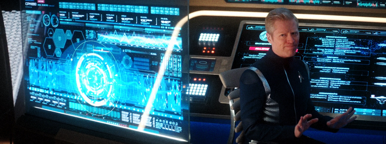 Stamets and his screen