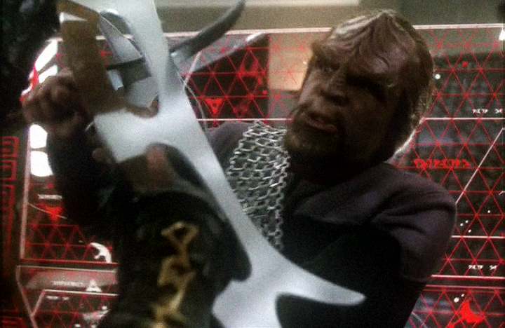 Worf and his screen