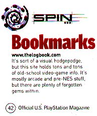 Official Playstation Magazine clipping - August 2001