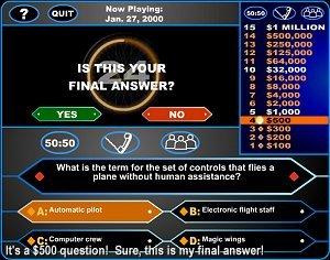 Who Wants To Be A Millionaire? online game