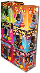 Coleco Tabletop arcade games