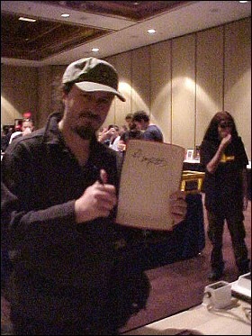 Larry Dixon at OKGE 2004