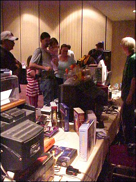 OKGE 2004: The Phosphor Dot Fossils Booth