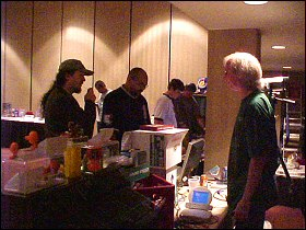 Larry Dixon and Kent at OKGE 2004