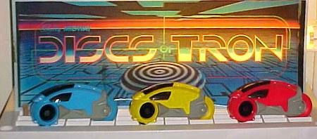 Tron (2002) action figures - photo copyright 2003 Earl Green / theLogBook.com