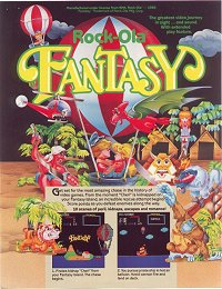 Fantasy Ad Flyer Front