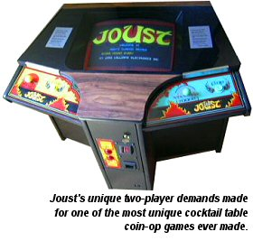 Joust cocktail game