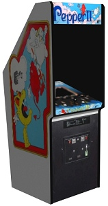3-D computer rendering of Pepper II cabinet