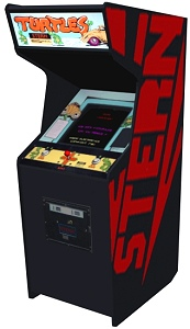 3-D computer rendering of Turtles cabinet