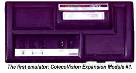 Colecovision Expansion Module #1