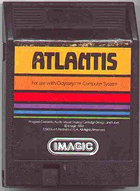 Atlantis cartridge for Odyssey2