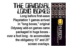 Odyssey long boxes