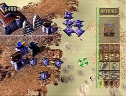 Dune 2000 on Playstation