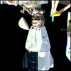 SpaceX Crew-1 docked at ISS