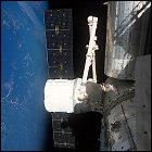 Dragon at ISS