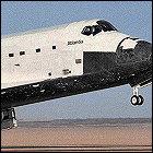 STS-27 landing