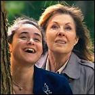 Yasmin Paige and Elisabeth Sladen
