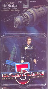 Babylon 5 action figures - photo copyright 1999 Earl Green / theLogBook.com