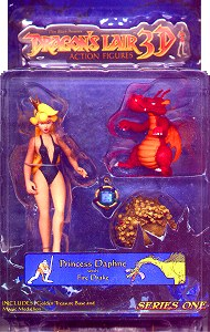 Dragon's Lair Princess Daphne action figure