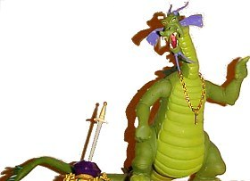 Dragon's Lair Singe action figure