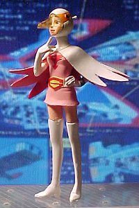 Gatchaman figurines - photo copyright 2001 Earl Green / theLogBook.com