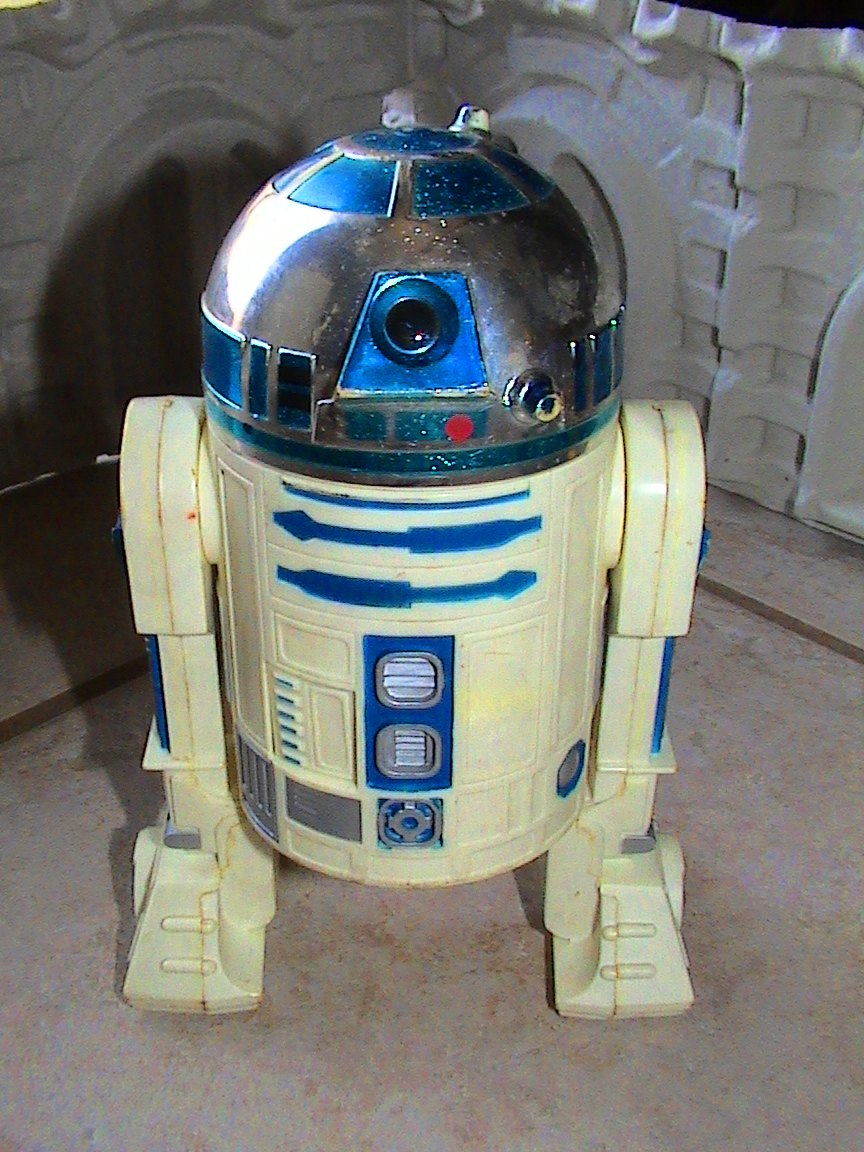 star wars large scale r2 d2 1978 thelogbook com toybox