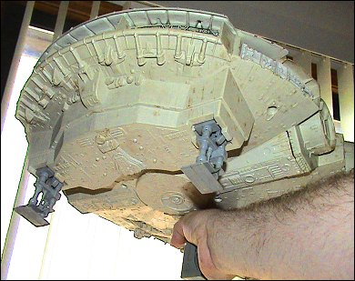 Star Wars Millennium Falcon - photos copyright 2006 Earl Green / theLogBook.com special thanks to Andrew Wester