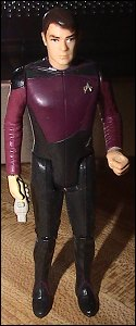 Star Trek action figures - photo copyright 2007 Earl Green / theLogBook.com