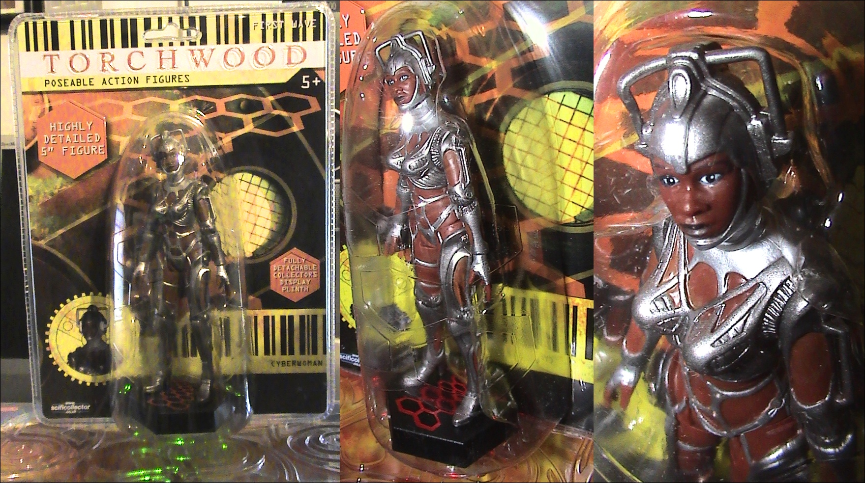 TorchWood Cyberwoman 1st Wave 5 Action Figure New