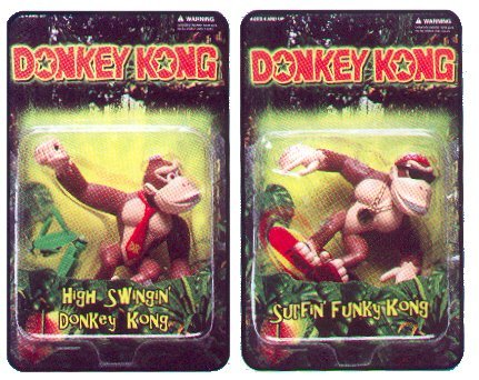Donkey Kong action figures - photo copyright 2000 Earl Green / theLogBook.com