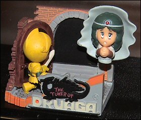 Namco Tower Of Druaga Mini-Diorama Figurine