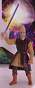 Star Wars Episode I Ki-Adi Mundi figure - photo copyright 1999 Earl Green / theLogBook.com