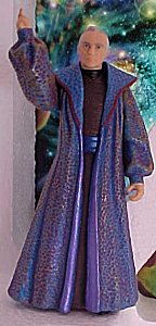 Star Wars Episode I Chancellor Valorum figure - photo copyright 1999 Earl Green / theLogBook.com