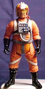 Star Wars Jek Porkins figure - photo copyright 2000 Earl Green / theLogBook.com