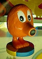 Q*Bert figurines - photo copyright 2000 Earl Green / theLogBook.com